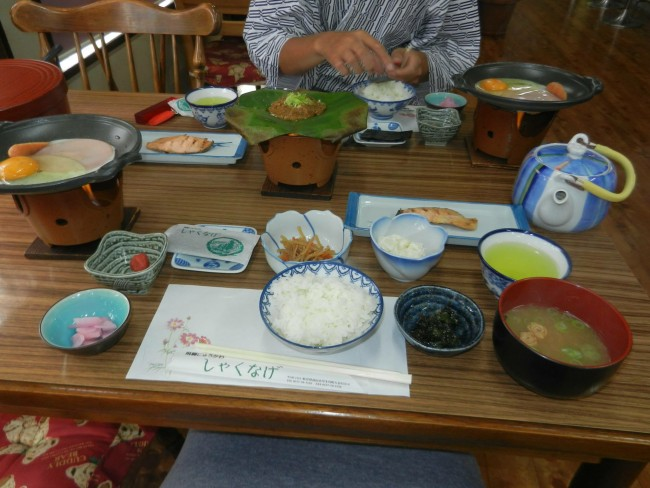 eating meal served in ryokan is exceptionally amzing