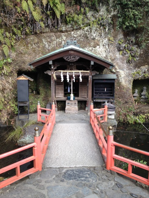 small shrine in Kamakura, a place filled with history