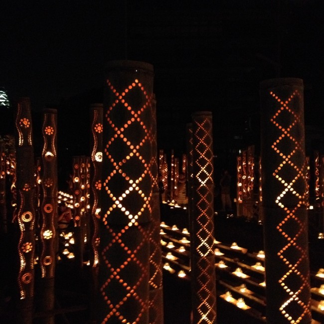 local Kumamoto craftsman create beautiful lanterns for the Mizu Akari Festival