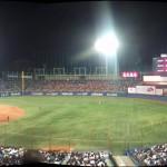 A fun afternoon watching Japanese baseball