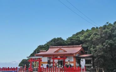 Kamafuta Jinja in Kagoshima.