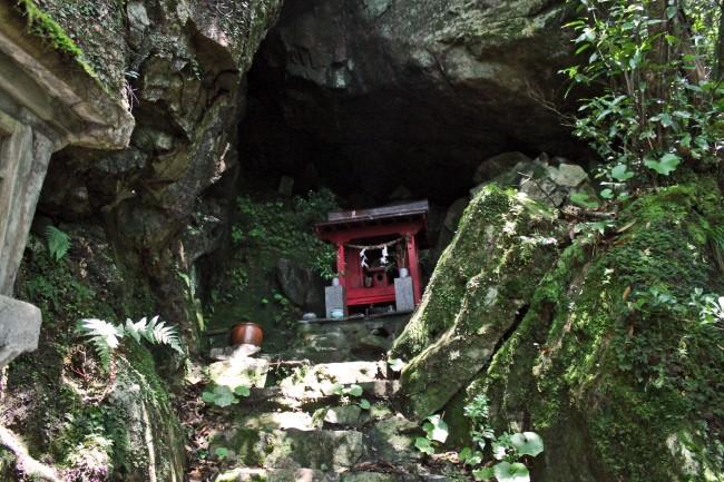 Chigonomiya shrine at Kinpo Mountain.