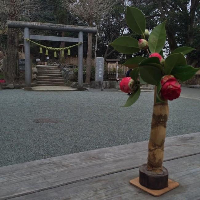 Outside Kuzuharaoka shrine, Daibutsu hiking course, Kamakura