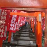 Sasuke-Inari shrine, the shogun enthroned at Kamakura