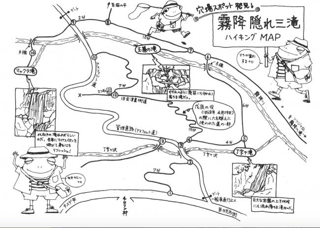 Falls, Nature, Waterfall, Nikko, map