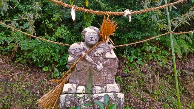 Tano Kansa - Tano Kansa statue, but a peasant.