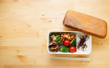 bento is lunch box in japanese