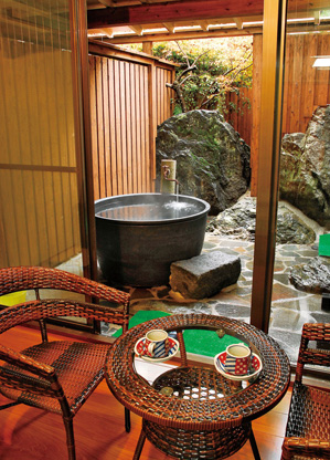 Ryokan hot spring in Kumamoto