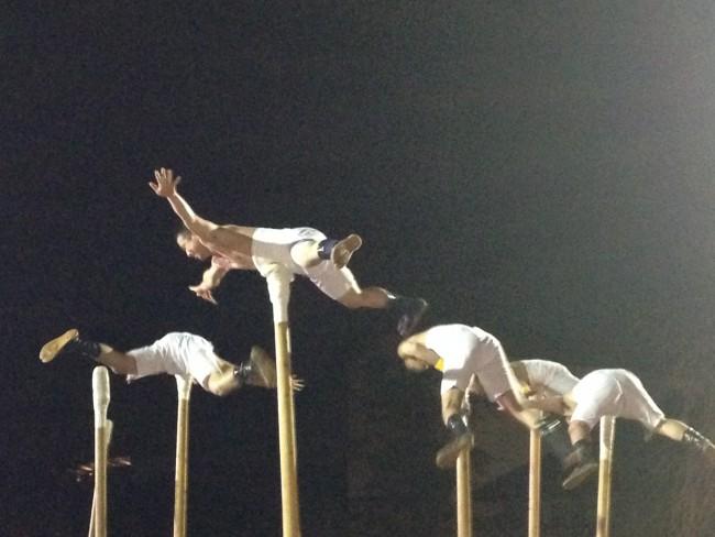 performance at Furukawa Festival in Japan