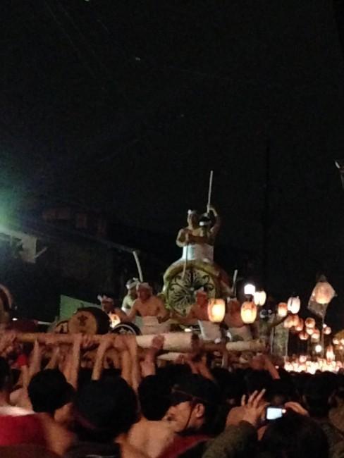 drums at Furukawa Festival in Japan