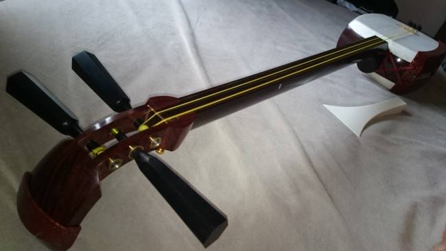 Shamisen, a traditional Japanese instrument