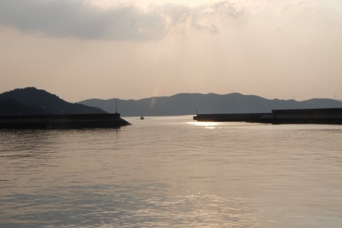 Seto Inland Sea, Triennale art festival islands beckoning under evening skies