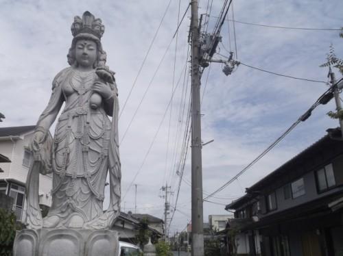 bodhisattva statue near Hiei, home to Enryaku-ji Temple