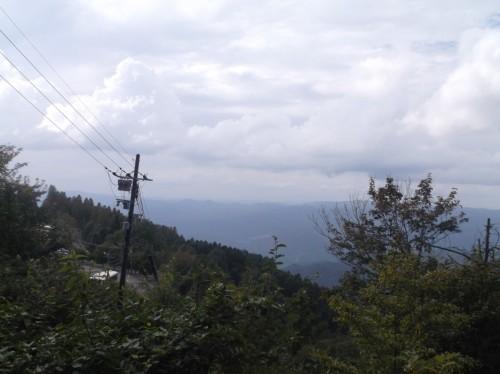 view near the top of Hiei, home to Enryaku-ji Temple