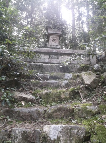 small shrine in Hiei, home to Enryaku-ji Temple