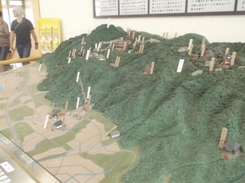 map of Hiei, home to Enryaku-ji Temple