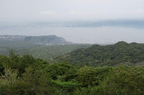 Sakurajima observatory and the surrounding view