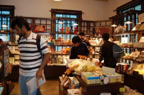 souvenir shop in Dejma island, Nagasaki