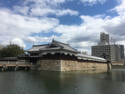 Hiroshima Castle, reconstructed throughout history