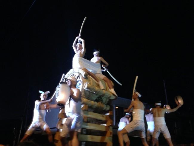 okoshidaiko at Furukawa Festival in Japan