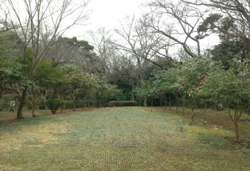 Skies open after hiking into Genjiyama Park through Kewaizaka Pass, Kamakura