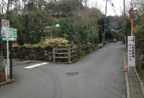 Additional road for Kaizō-ji Temple on Kamakura outskirts, Kamakura history