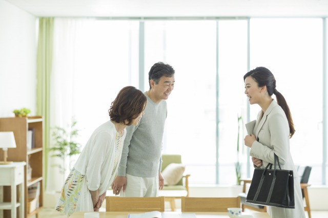bowing is a japanese briquette in business situation