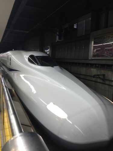 go on a weekend trip via the shinkansen