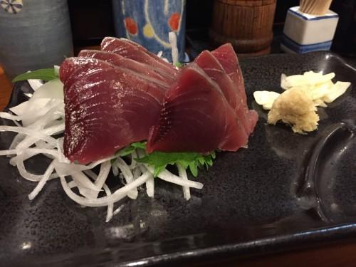 Katsuo, also known as bonito, is popular in Chiba prefecture.