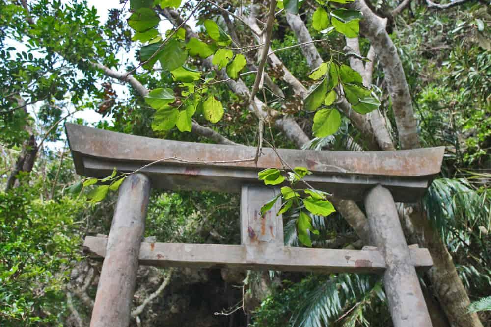 shrine on hamahiga island