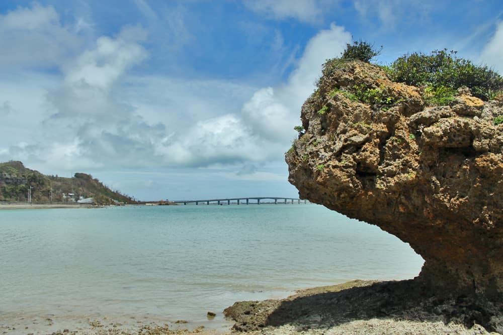 The beautiful rock formations near Shirumichu