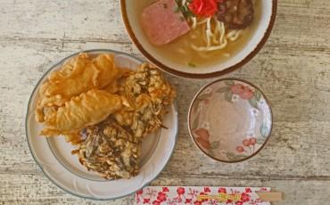 Okinawa speciality, okinawa soki soba!