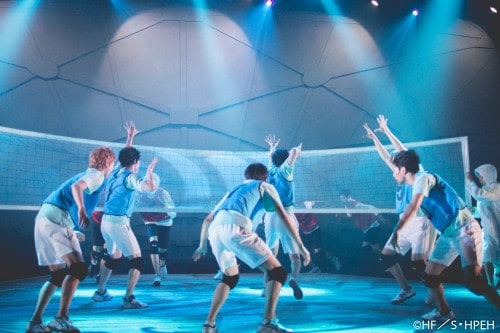 Hyper Projection Engeki Haikyuu! The view from the summit