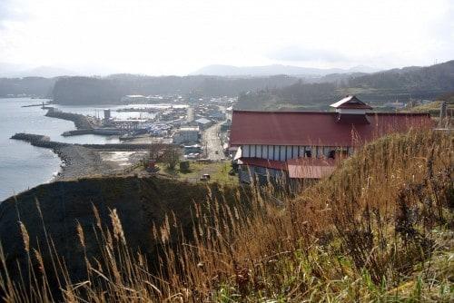 Nishin Goten at Shukutsu, fishing village close to Otaru, Hokkaido