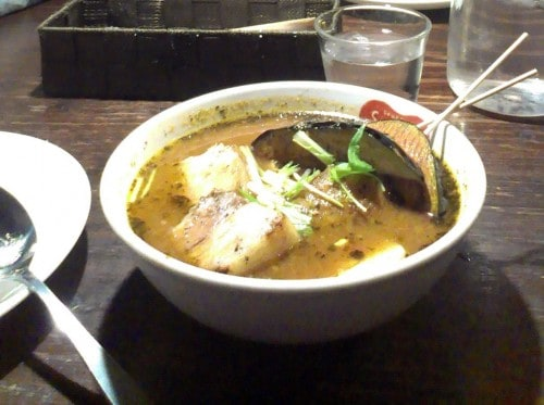 Suage Restaurant's Soup Curry in Sapporo, Hokkaido - The First One that I Ever Had!