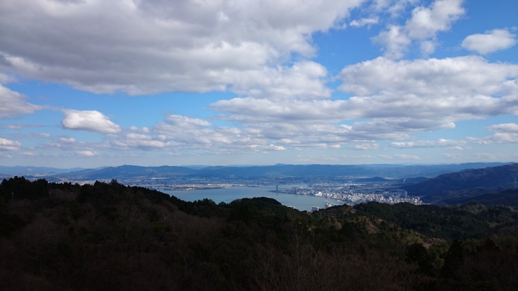 Biwa from Hiezan