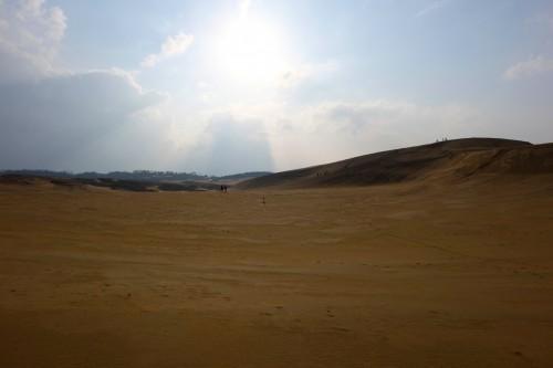 The vast and beautiful Tottori Sand Dune