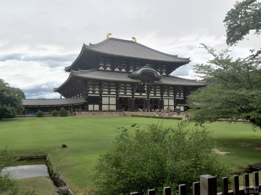 The Dwarfing Experience of Todaiji