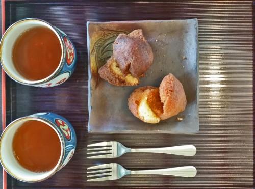 Okinawa sweet and tea