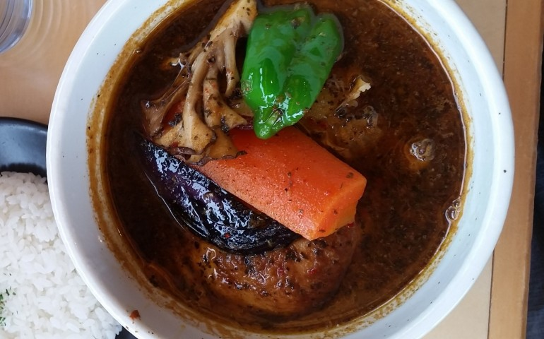Soup Curry from Sapporo is becoming more popular all the time