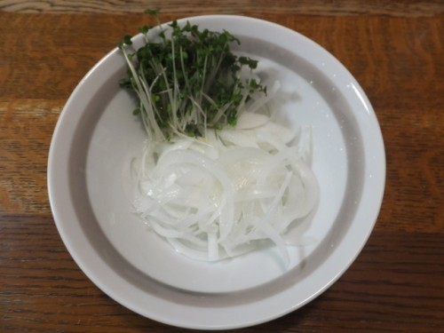 to prepare Shougayaki, onion is needed