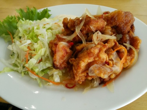 Shougayaki is a standard item on many Japanese family and restaurant menus