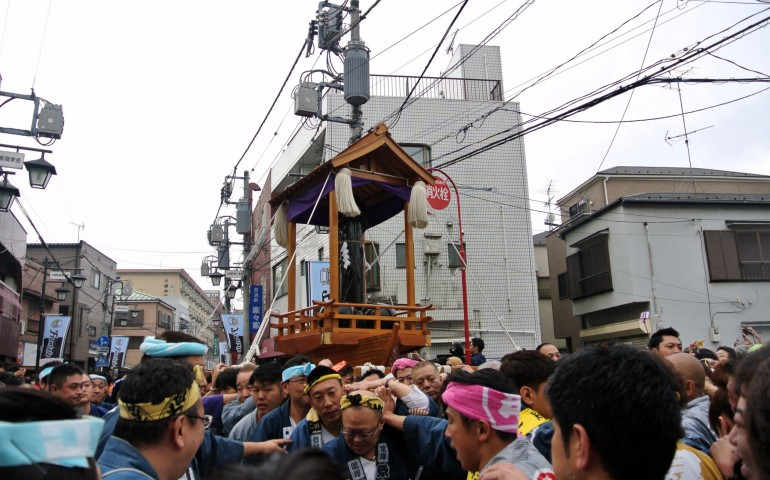 Kanamara festival in Kawasaki