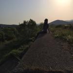 Enjoy the sunset at Mikuni beach, Fukui