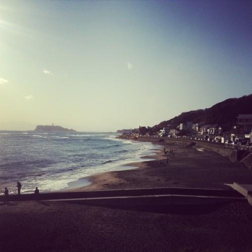 Kamakura beach