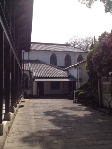 Around the Oura Church, Nagasaki