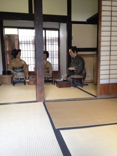 a Presentation of Edo era reminds us the authentic Japanese old life