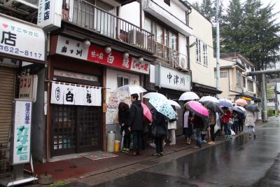 Line to eat at Pairon - A Popular Restaurant in Morioka