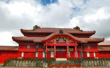 Shuri Castle in Okinawa prefecture