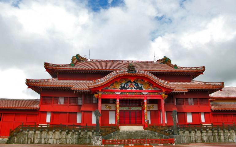 Shuri Castle in Okinawa prefecture